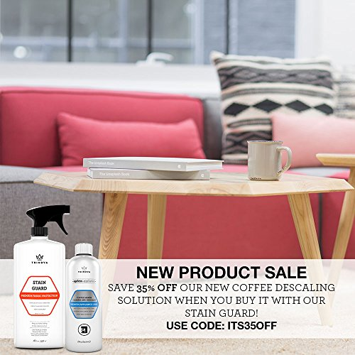 Fabric Protector Spray And Stain Guard For Upholstery Protection. Repellent  Safe For Your Couch Sofa