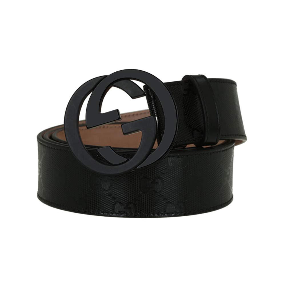 Men's fashion casual belt - removable buckle (32''-34''(110))