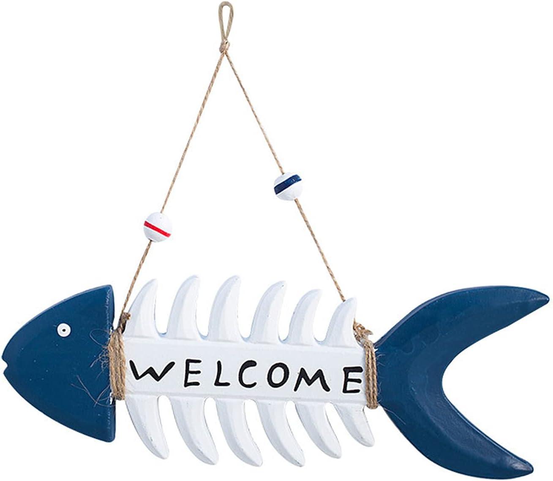 Yngffb Cartel de Bienvenida, 1 Signo de Bienvenida, Placa de Bienvenida, Hecho de Madera, ecológico, Hecho a Mano, Estilo mediterráneo, decoración Paredes, decoración del hogar, decoración Jardines