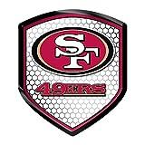 NFL San Francisco 49Ers Team Shield Automobile Reflector