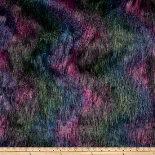 Shannon Fabrics Shannon Faux Fur Luxury Shag Fabric, Galaxy, Fabric By The Yard ()
