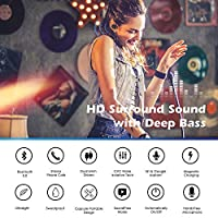 Wireless Earbuds, Latest 5.0 Bluetooth Earbuds Wireless Headphones Bluetooth Headset Wireless Earphones with Charging Case,IPX5 Waterproof,15H Playtime Deep Bass HiFi 3D Stereo Sound from Sunnywoo