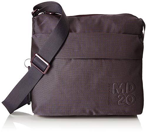 Mandarina Duck Womens Md20 Tracolla Shoulder Bag Purple (Vineyard Wine 13u)