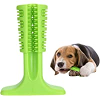 YB-EU Cepillo de Dientes Perro - Palo Juguete para Masticar - Limpiador Dientes Perros - para Perros pequeños - Regalo para el Amante de Las Mascotas (Verde)