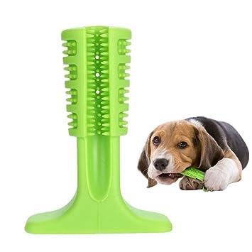 XIN-JI Cepillo de Dientes Perro - Palo Juguete para Masticar - Limpiador Dientes Perros