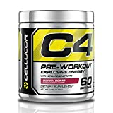 Cellucor C4 Pre Workout Supplements with Creatine, Nitric Oxide and Energy
