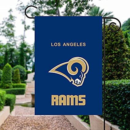 503b0f896e Amazon.com   RongJ-store NFL Los Angeles Rams Double 2 Sided Garden ...