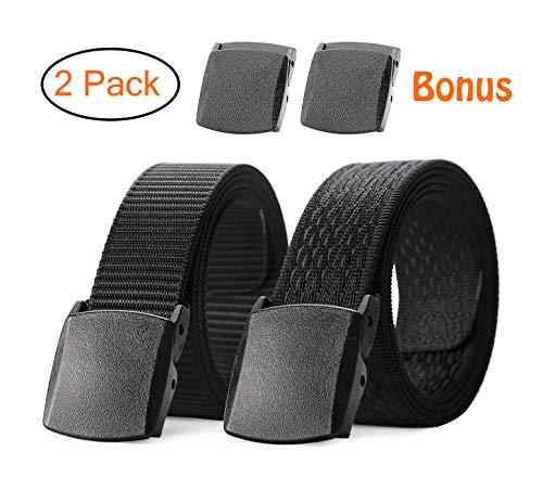 Best tactical belt plastic buckle list