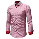 Best Print Wear Clothing Friend Gifts Shirts - Sumen Men' Shirt,2018 Winter Casual Striped Print Long Review