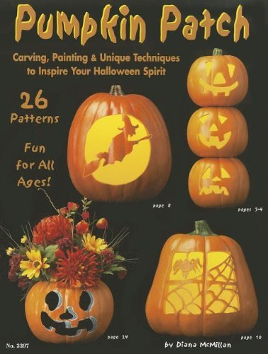 (Pumpkin Patch: Carving, Painting & Unique Techniques to Inspire Your Halloween Spirit (Design Originals) by Suzanne McNeill)