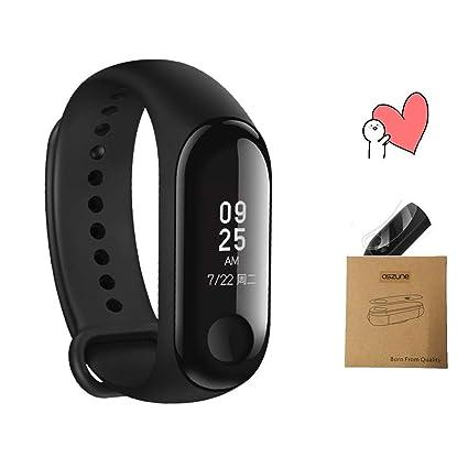 Amazon.com : Aszune Smart Wristband with OLED Display Count ...
