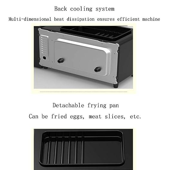 Shisky Máquina de desayunos multifunción de regalo tres en uno con tostadora máquina de café máquina de pan horno personalizado: Amazon.es: Hogar