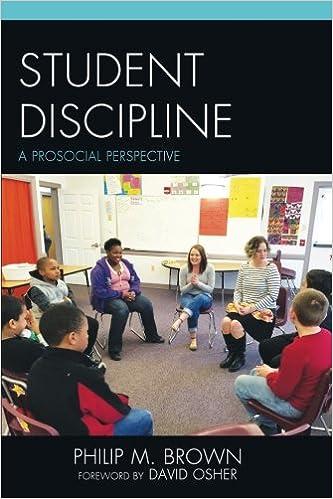 Book Student Discipline: A Prosocial Perspective