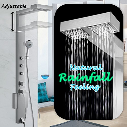 AKDY 858371 Adjustable Stainless Waterfall