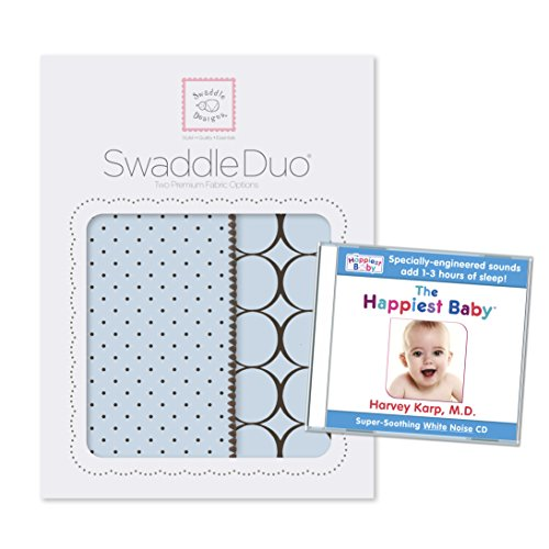SwaddleDesigns SwaddleDuo Happiest Bundle Modern