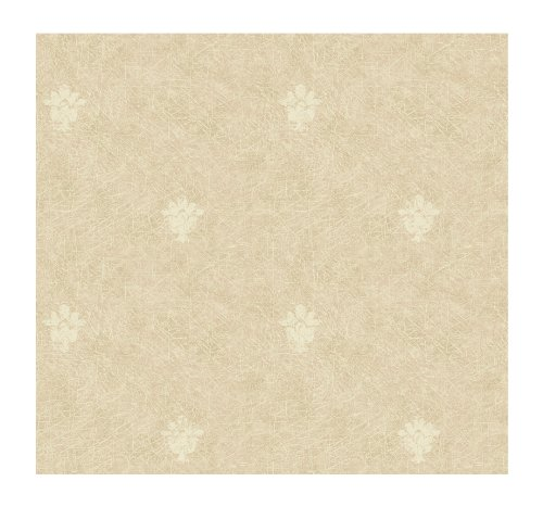 (York Wallcoverings DC1391SMP Iridescent Stamped Leaf Silk Damask Texture 8 x 10 Wallpaper Memo Sample, Light Pink)