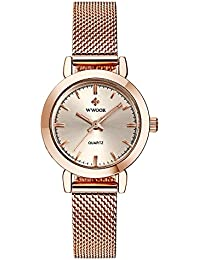 New Women Watches Quartz-watch Relojes Mujer coupons for Classic Retro Stainless Straps 011(
