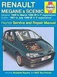 Renault Megane & Scenic Petrol & Diesel (96 - 99) Haynes Repair Manual: 1996 to 1999 (Haynes Service and Repair Manuals) by Anon (2006-11-01)