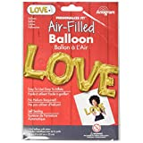 Amscan 3376701 Love Super Shaper Foil Balloon by Amscan