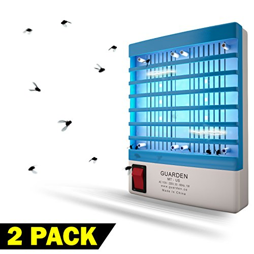 Bug Zapper Plug (Indoor Gnat Killer Mosquito Zappers- Free your Home Of Gnats and Mosquitoes Fast - Non Toxic Electric Zapping Bug Control Lamp - Zap Bugs and Flying Pests - Extreme Strength Kill Plug Trap)