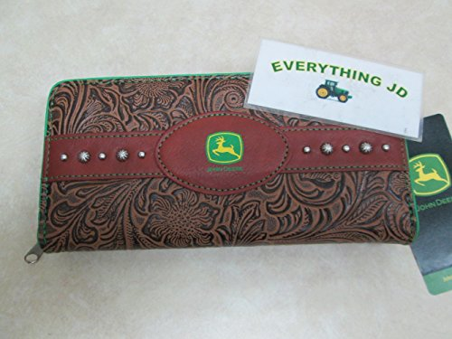 John Deere Ladies Brown Leather Wallet from John Deere