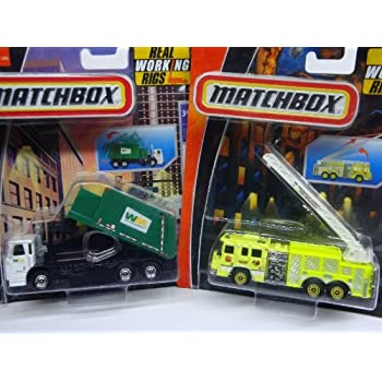Amazon.com: Matchbox Real Working Rigs Waste Management