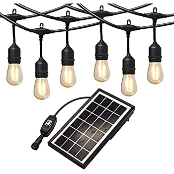 Amazon Com Ashialight 12 Volt Outdoor String Lights With