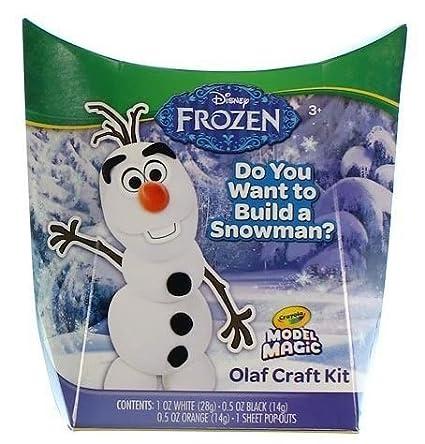 Amazon.com: Crayola Disney Olaf de Frozen Craft Kit Crayola ...