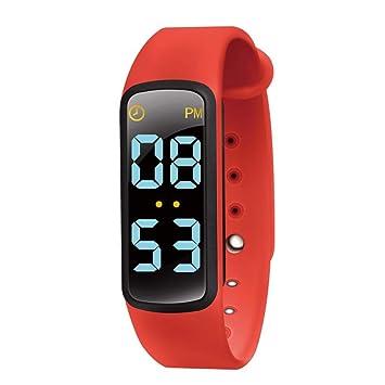 Bearbelly Smartwatch para niños, Pantalla LED de 3 Colores, Correa ...