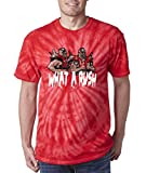 Silo Shirts TIE DIE RED Legion of Doom WWF T-Shirt YOUTH