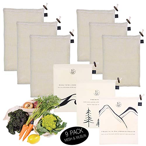 Reusable Produce Bags by