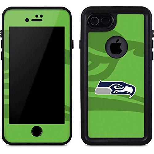 lowest price dd849 b7fc7 Amazon.com: Skinit Seattle Seahawks iPhone 8 Waterproof Case ...
