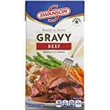 #3: Swanson Gravy, Beef, 18.3 Ounce (Pack of 8) (Packaging May Vary)