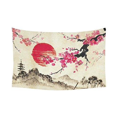 Landscape Wall Art Home Decor, Japanese Sakura Cherry Blossom