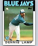 1986 Topps #219 Dennis Lamp Blue Jays MLB Baseball