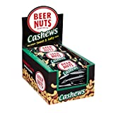 BEER NUTS Cashews | 24 Pack Box – 1 oz. Individual Bags – Sweet and Salty For Sale
