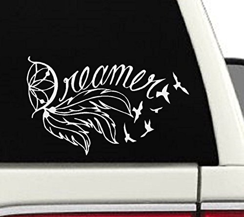 Dreamer Dream Catcher Car/Laptop Decal - 5x8