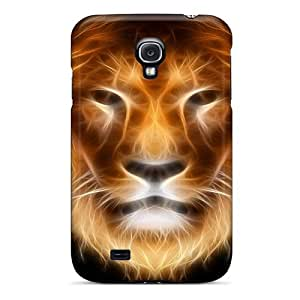 Galaxy S4 Case Bumper Tpu Skin Cover For Abstract Lion Accessories