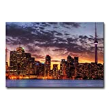 Wall Art Painting Toronto Skyline In Sunset Prints On Canvas The Picture City Pictures Oil For Home Modern Decoration Print Decor For Furniture