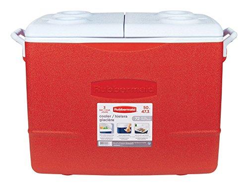 Rubbermaid #2A15-00-CLARD 48QT Victory Cooler (48 Quart Rubbermaid Cooler)