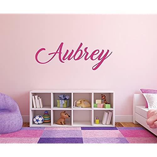 Girls Personalized Name Wall Decal   01. By Squatchlingu0027s Wall Decals