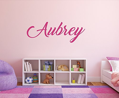 Girls Personalized Name Wall Decal - 01 from Squatchling's Wall Decals