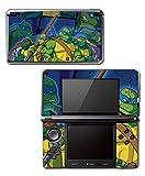 Teenage Mutant Ninja Turtles TMNT Arcade Attack Cartoon Comic TV Show Video Game Vinyl Decal Skin Sticker Cover for Original Nintendo 3DS System