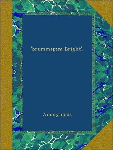 Book 'brummagem Bright'.