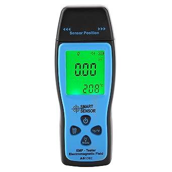 SMART SENSOR Medidor EMF Detector de Radiación de Campo Electromagnético para Pruebas de radiación de campo