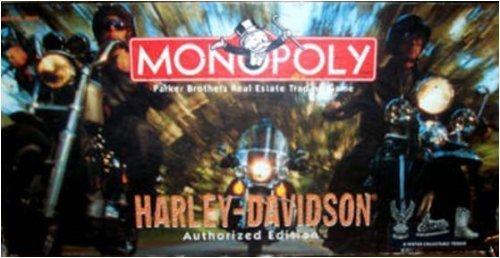 Harley-Davidson MONOPOLYAuthorized Edition 1997