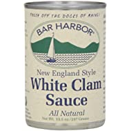 Bar Harbor All White Clam Sauce, 10.5 Ounce (Pack of 6)