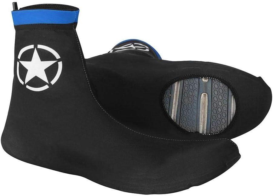 Lluvia Resistente al Viento para Invierno Funda para Zapatos de Ciclismo Patas Dilwe protecci/ón de Zapatos de Bicicleta Licra Transpirable