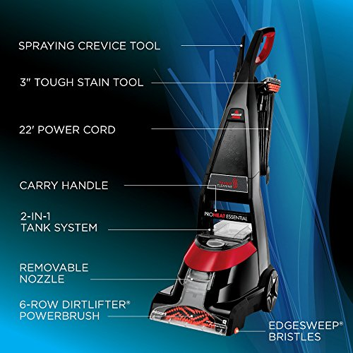 88aa5147b9c Amazon.com - BISSELL Proheat Essential Carpet Cleaner and Carpet Shampooer