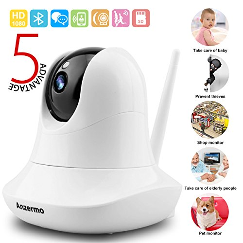 Wifi Baby Monitor Camera Audio 1080p Wireless, Two Way Audio Pet Cameras...